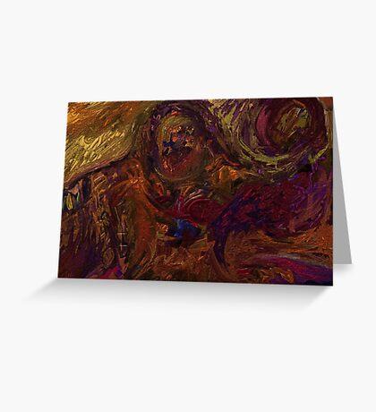 Incantation of Passion Greeting Card