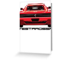 Ferrari - Testarossa Greeting Card