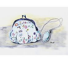 Purse and Necklace Photographic Print