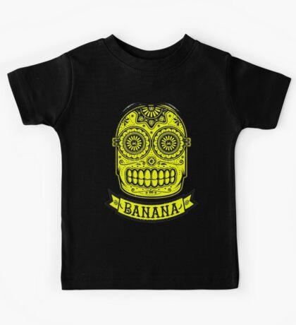 Minion Banana Sugar Skull Kids Tee