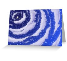 The Moon in the Sky Greeting Card