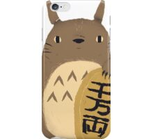 Cute Totoro Lucky iPhone Case/Skin
