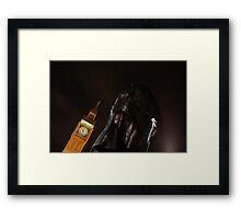 Churchill and Big Ben Framed Print