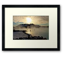 Bathed in sunlight Framed Print
