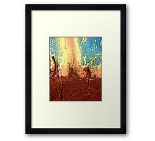 Internal Fire Framed Print