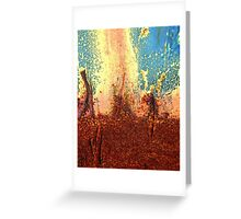Internal Fire Greeting Card
