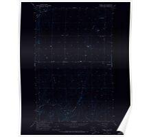 USGS Topo Map Washington State WA Piersol Hills 243128 1968 24000 Inverted Poster