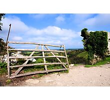 The other gate at Corfe Castle Photographic Print