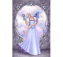 Opal Birthstone Fairy Photographic Print