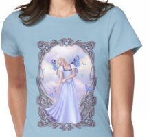 Opal Birthstone Fairy Womens Fitted T-Shirt