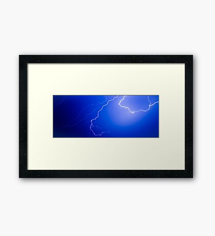 Electricity Framed Print
