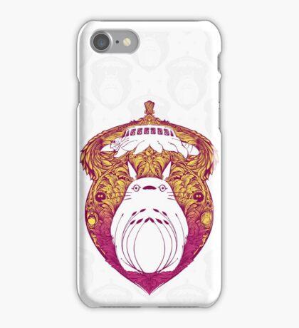 Totoro Victoriana iPhone Case/Skin