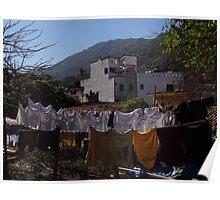 Washing In The Morning - Lavado En La Mañana Poster