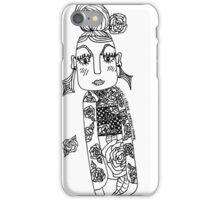 Kokeshi Spunk iPhone Case/Skin