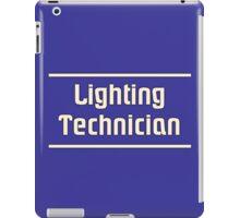 Lighting technician iPad Case/Skin