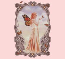 Citrine Birthstone Fairy One Piece - Short Sleeve