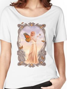 Citrine Birthstone Fairy Women's Relaxed Fit T-Shirt