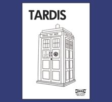Tardis Ikea  by Alternative Art Steve