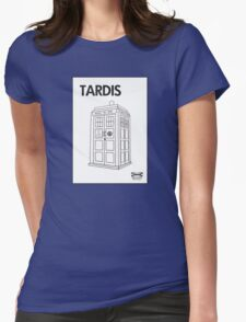 Tardis Ikea  Womens Fitted T-Shirt