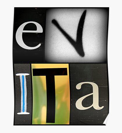 EVITA Poster