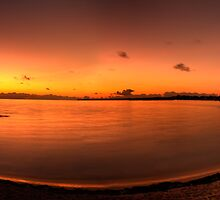 Montagu Bay Dawn, Nassau, Bahamas by Shane Pinder