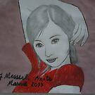 Asian girl by fladelita