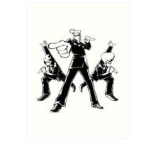 Elite Beat Agents Art Print