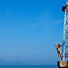 Sharp lookout Greece Griechenland by Andreas Jontsch