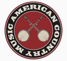 American Country music Kids Tee