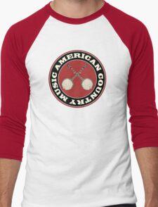 American Country music Men's Baseball ¾ T-Shirt