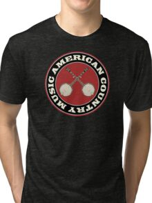 American Country music Tri-blend T-Shirt