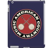 American Country music iPad Case/Skin