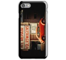 We Repair Volkswagens iPhone Case/Skin