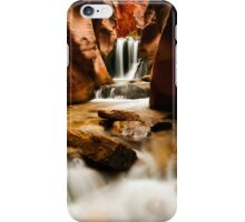 Kanarra Waterfall  iPhone Case/Skin