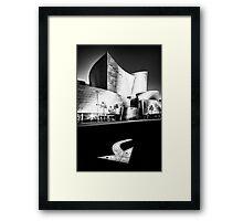 on the edge of Hope Street....(Walt Disney Concert Theater, Los Angeles, CA, USA.) Framed Print