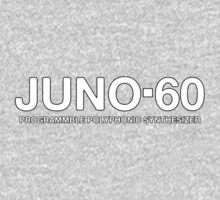 Vintage Juno 60 Synthesizer Kids Tee