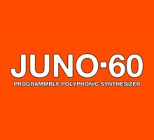 Vintage Juno 60 Synthesizer Kids Tee