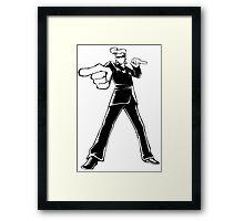 Agent J Framed Print