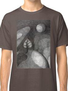 Tree On Moon Classic T-Shirt