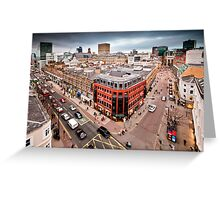 Manchester City Centre Greeting Card