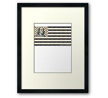 MAKE IT IN AMERICA Framed Print