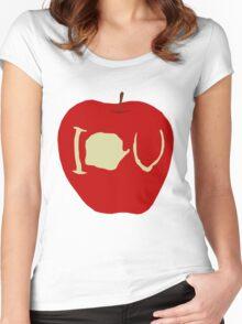 I.O.U Women's Fitted Scoop T-Shirt