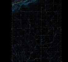 USGS Topo Map Washington State WA Whitstran 244682 1965 62500 Inverted by wetdryvac