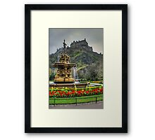 Ross Fountain Framed Print