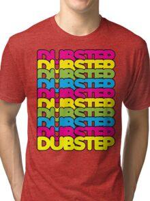 Dubstep (rainbow color) Tri-blend T-Shirt