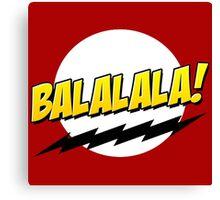 Baymax Fistbump Balalala Canvas Print