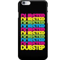 Dubstep (rainbow color) iPhone Case/Skin