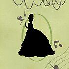 Princess Tiana Full Body Silhouette by joshda88
