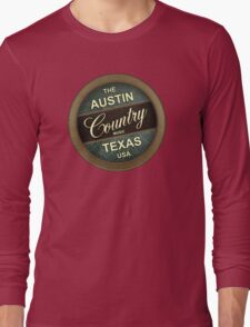 Austin Country Music Texas Long Sleeve T-Shirt