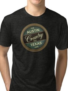 Austin Country Music Texas Tri-blend T-Shirt